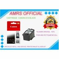 CARTRIDGE TINTA CANON PG 810 BLACK IP2770 MP287 MP237