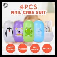 4Pcs Set Alat Perawatan Kuku Bayi 700za