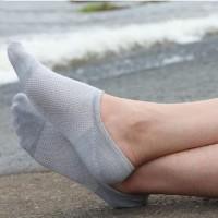 Terpupoler Kaos Kaki Pria Serat Arang Bambu Kaus Kaki Hidden Socks W05