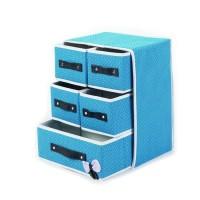 Lemari Box Kotak Tempat Penyimpanan Pakaian Baju Serbaguna Laci 5 In 1