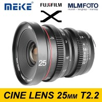 MEIKE 25MM T/2.2 WIDE CINE LENS FUJIX FUJI VIDEO LENS T2.2 MOUNT