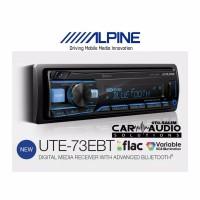 Single Din Alpine UTE-73EBT FLAC Bass Engine SQ
