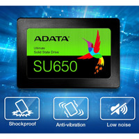 ADATA SSD SU650 120GB SATA III ( R/W Up to 520 / 450MB/s )