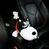Tempat Tisu Boneka / Tissue Organizer Boneka Karakter Dog Anjing -1 - Husky