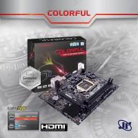 Motherboard Colorful C.H110M-T PLUS V21 (LGA1151, H110, DDR4, USB3.0)
