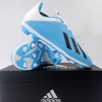Sepatu Bola Anak Adidas X 19.4 FXG JR Cyan Black F35361 Original BNIB
