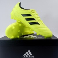 Sepatu Bola Anak Adidas Copa 19.3 FG JR Syello Black F35466 Original
