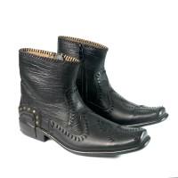 sepatu pantofel pria sepatu kerja formal kantor pesta asli kulit