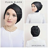 turban hijab instan - Plain