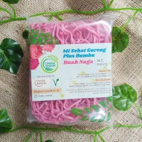 Mie Buah Naga Sehat Sayur Organik Vegetarian 85gr