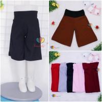 Kulot Polos Uk. 5-6 Tahun / Celana 3per4 Anak Perempuan Skirt Pendek