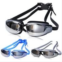Kacamata renang Dewasa Anti Fog &amp Uv Protection Ruihe rh9200