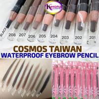 Pensil Alis Cosmos (Eyebrow Cosmos Waterproof) Taiwan Original - Black