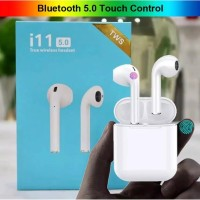New i11 touch button wireless bluetooth 5.0 Airpods Earbuds