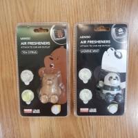 Parfum Mobil We Bare Bears Air Freshener Panda Grizz Miniso Japan