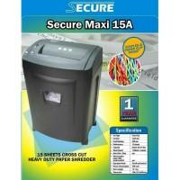 Penghancur Kertas Mesin Penghancur Kertas SECURE Maxi 15A