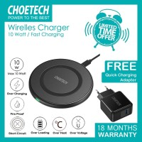 Wireless Charger FAST CHARGING CHOETECH T526S 10W + Q3002
