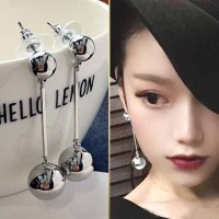 Anting Korea Tassel Long Temperament Earrings AGS040