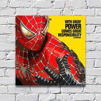 Wall Decor Poster Hiasan Pajangan Dinding Pop Art Spiderman POP008FHZ