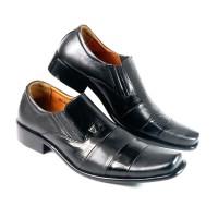 sepatu pantofel kerja asli kulit