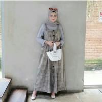 gamis dress wanita muslim INTANA OVERALL