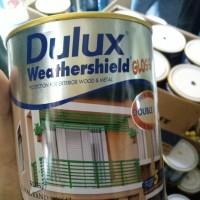 Cat Minyak Dulux Weathershield Gloss Warna Standard (1 Liter)