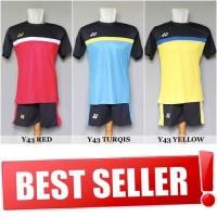 Setelan Badminton / Bulutangkis Yonex Y43 (Baju Kaos Jersey Celana)