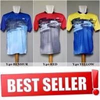 Kaos Badminton / Bulutangkis Yonex Y40 (Baju Kaos Jersey Olahraga)