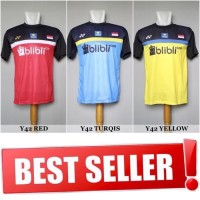 Kaos Badminton / Bulutangkis Yonex Y42 (Baju Kaos Jersey Olahraga)