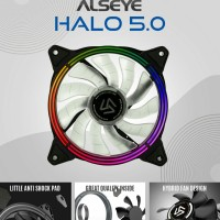 Alseye Fan Case 12Cm H120 5MR Auto RGB/CPU Cooler 12Cm Alseye Halo