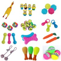 Mainan Kunyah Gigit 32 Pilihan Latihan Pembersih Gigi Anjing