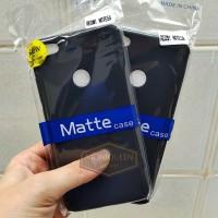 Xiaomi Redmi Note 5A (PRIME) BLACK MATTE CASE / Blackmatte Babyskin
