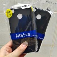Xiaomi Redmi 4X BLACK MATTE CASE / Blackmatte Babyskin Casing