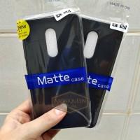 Xiaomi Redmi Note 4 / Note 4X BLACK MATTE CASE / Blackmatte Babyskin