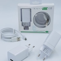 Charger HP Oppo Original VOOC 4A Set F1 Plus