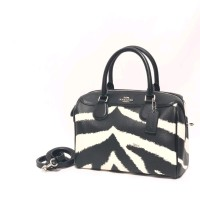 Tas coach bennet mini black chalk zebra print abn original