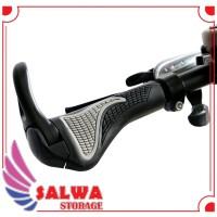 Gagang Setang Sepeda Hand Grip Tanduk Rubber Ergonomic Handlebar