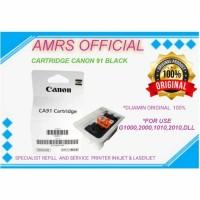 CATRIDGE TINTA CANON 91 BLACK G1000 G2000 G3000 G1010 G2010