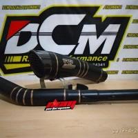Jual knalpot R9 H2 black dop full system PNP CBR 150R facelift Diskon
