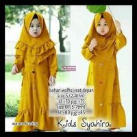 Baju Gamis Anak Terbaru Syahira Kids Syari Original Kenzo Plus Jilbab