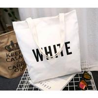 Tote Bag Kanvas Sling Bag (125gr)