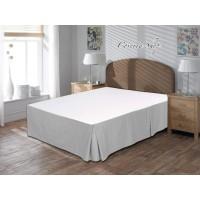 Bed Skirt Polos Katun 180x200x30cm