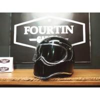 Helm Custom Simpson M30 with flat visor