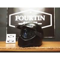 Helm Custom Classic SIMPSON M30 GOOGLES TOPI PET Retro Vintage Klasik