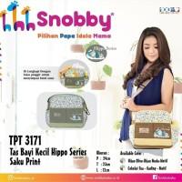 Snobby tas kecil hippo series tas bayi baby diaper bag/TPT3171