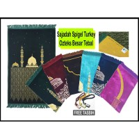 Sajadah Spigel Turki Turkey Turkiye / Ozteks Besar Tebal Murah