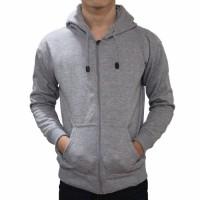 Jaket Sweater Polos Hoodie Zipper/Resleting - Abu Misty