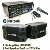 paket karaoke bmb bluetooth paketan sound sistem amplifier speaker aud