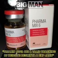 Pharma Mix6 Pharma Mix 6 PharmaMix6 Pharmacom Labs 10 ml 10ml ASLI ORI