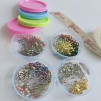 Paket Jar Peniti mini bohlam jarum pentul jilbab isi 120pcs - All Jarum Mix